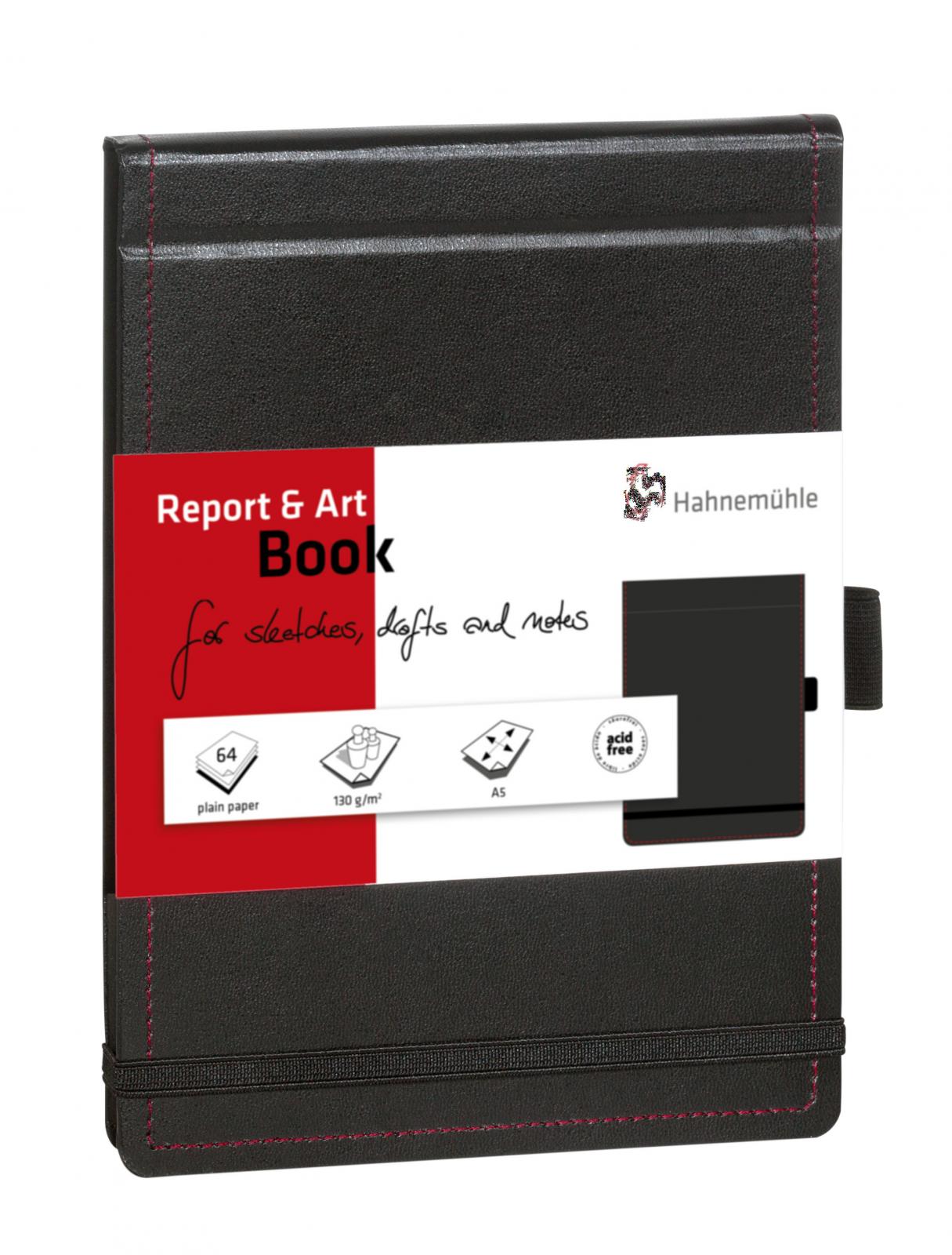 REPORT & ART BOOK 130 g/m  TAM A5 10628471  - Papelaria Botafogo