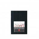 SKETCH BOOKLET 140g/m CAPA PRETA A5 10628730