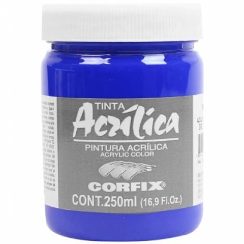 ACRILICA ARTS BRIL 250ML GR 1 68 AZUL ULTRAMAR - Papelaria Botafogo