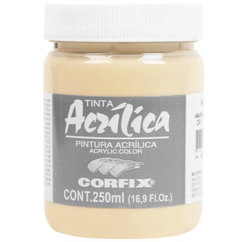 ACRILICA ARTS BRIL 250ML GR 1 76 AM PELE CORFIX - Papelaria Botafogo