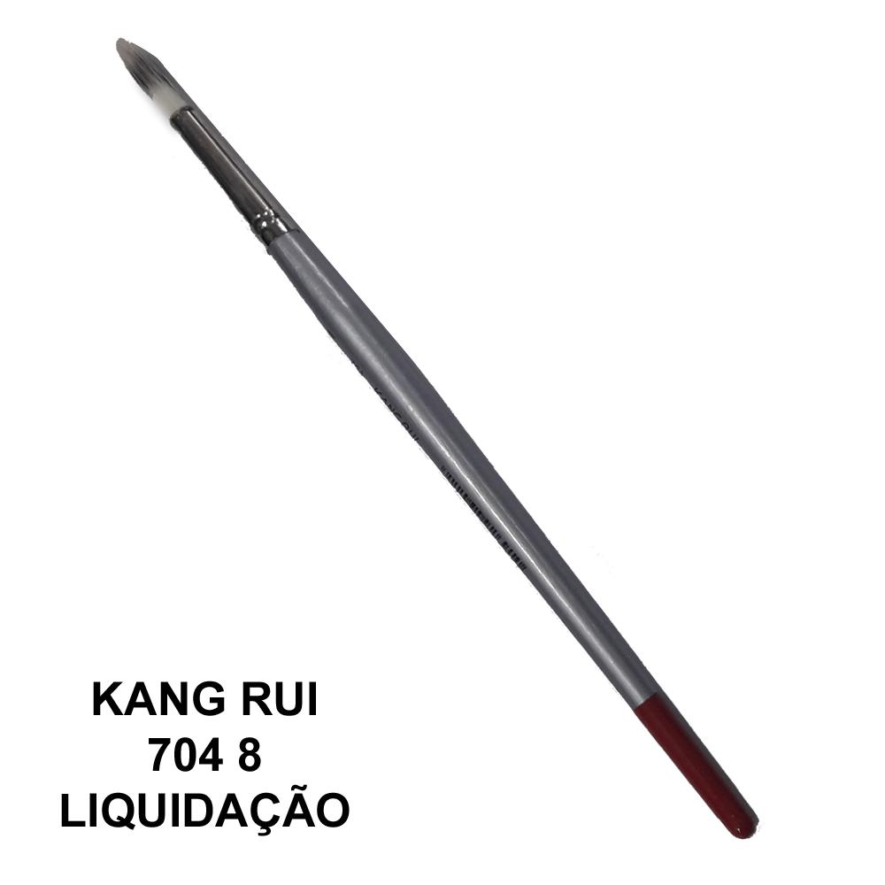 Pincel Kang Rui 704 8 - Papelaria Botafogo