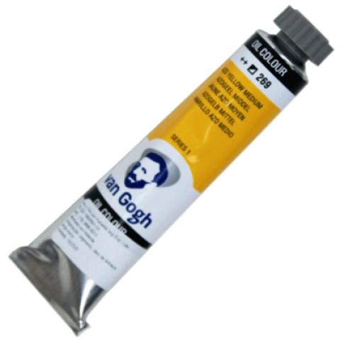 Oleo Van Gogh Azo Yellow M ++269 - Tubo 20 - Papelaria Botafogo
