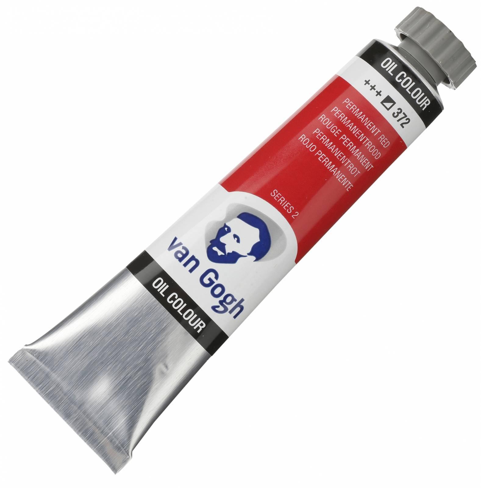 Oleo Van Gogh Permanent red +++372 - serie 2 - Tubo 20mll - Papelaria Botafogo
