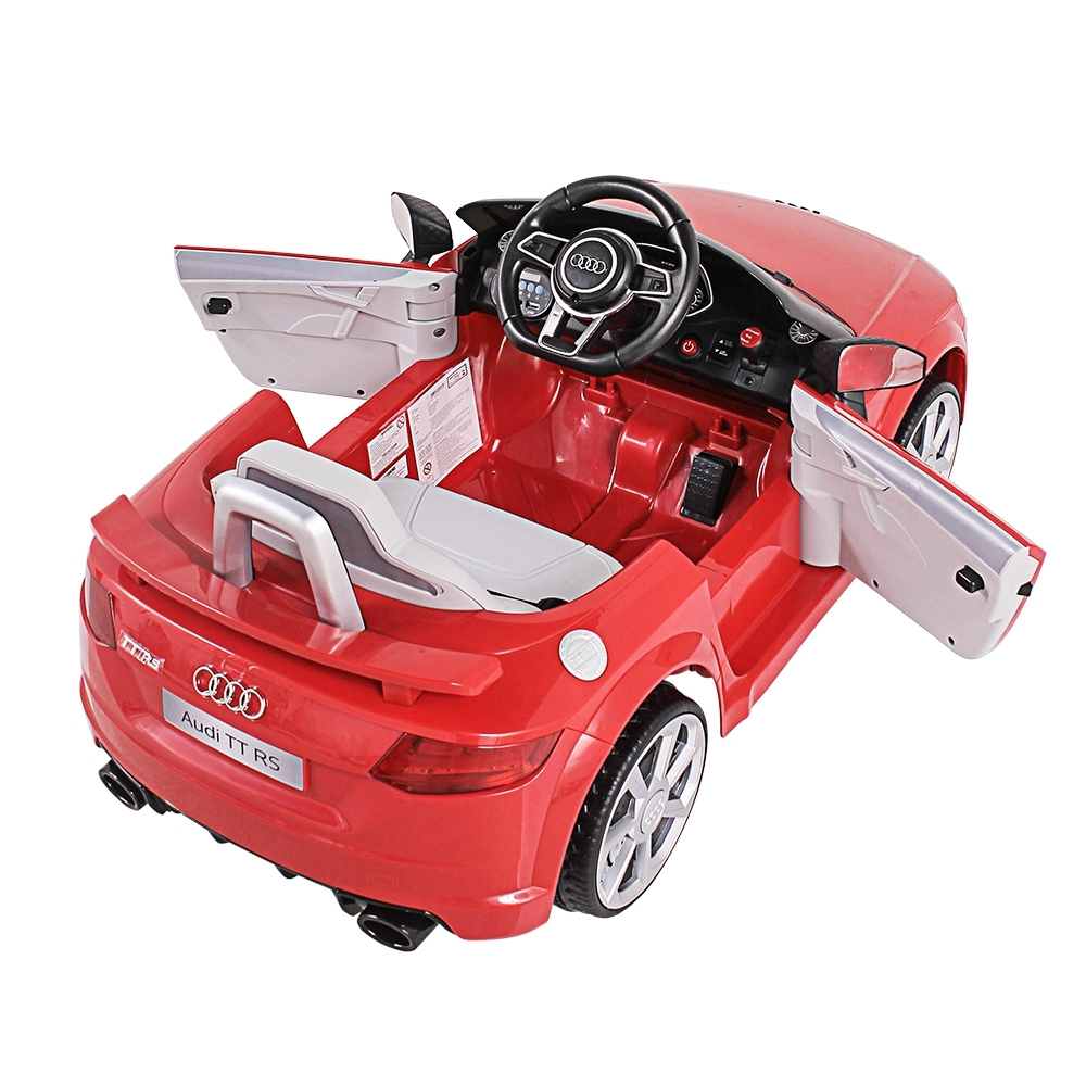 CARRO ELÉTRICO AUDI TT RS C/ CONTROLE REMOTO 2.4GHz 12V - Cantele Centro Automotivo