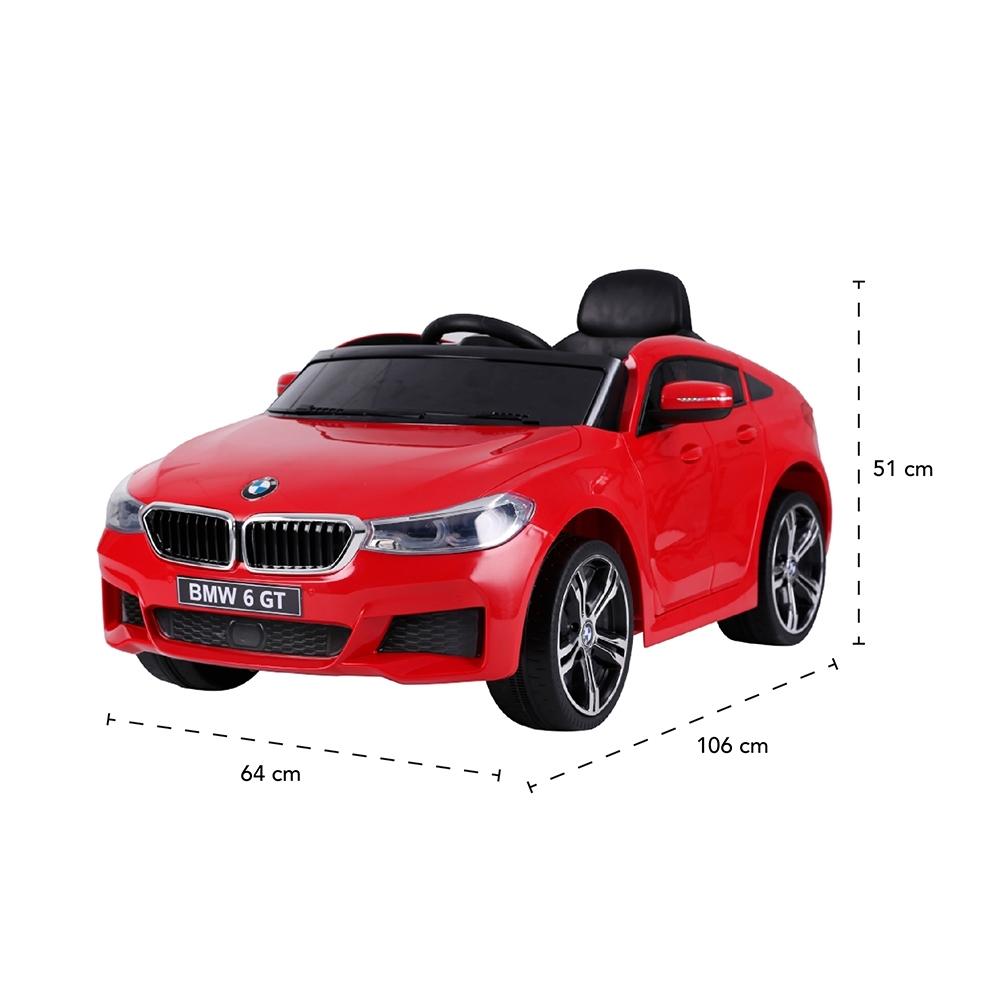 CARRO ELÉTRICO BMW 6 GT C/ CONTROLE REMOTO 2.4GHz 12V - Cantele Centro Automotivo