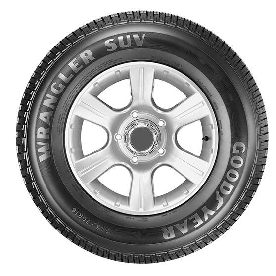 Pneu Goodyear Wrangler SUV 235/60 R16 100H - Cantele Centro Automotivo