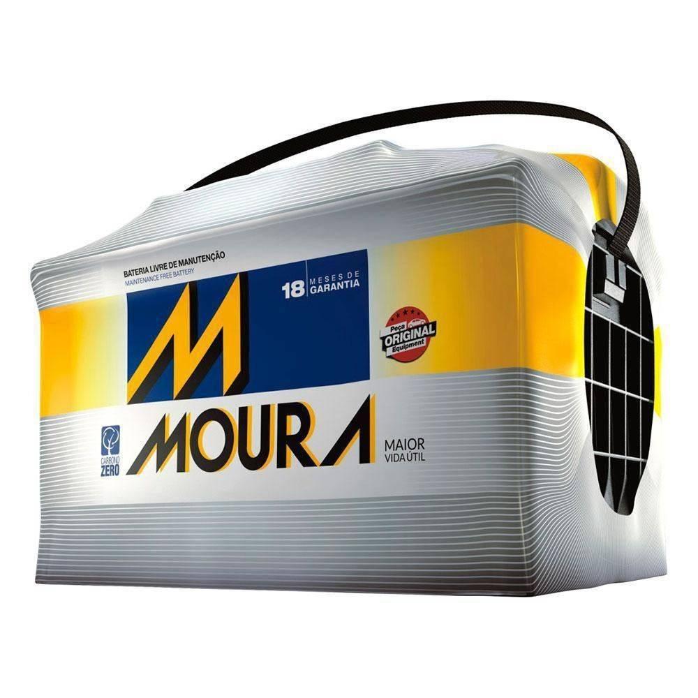 Bateria Moura 60Ah (M60AD - Caixa Alta) - Cantele Centro Automotivo
