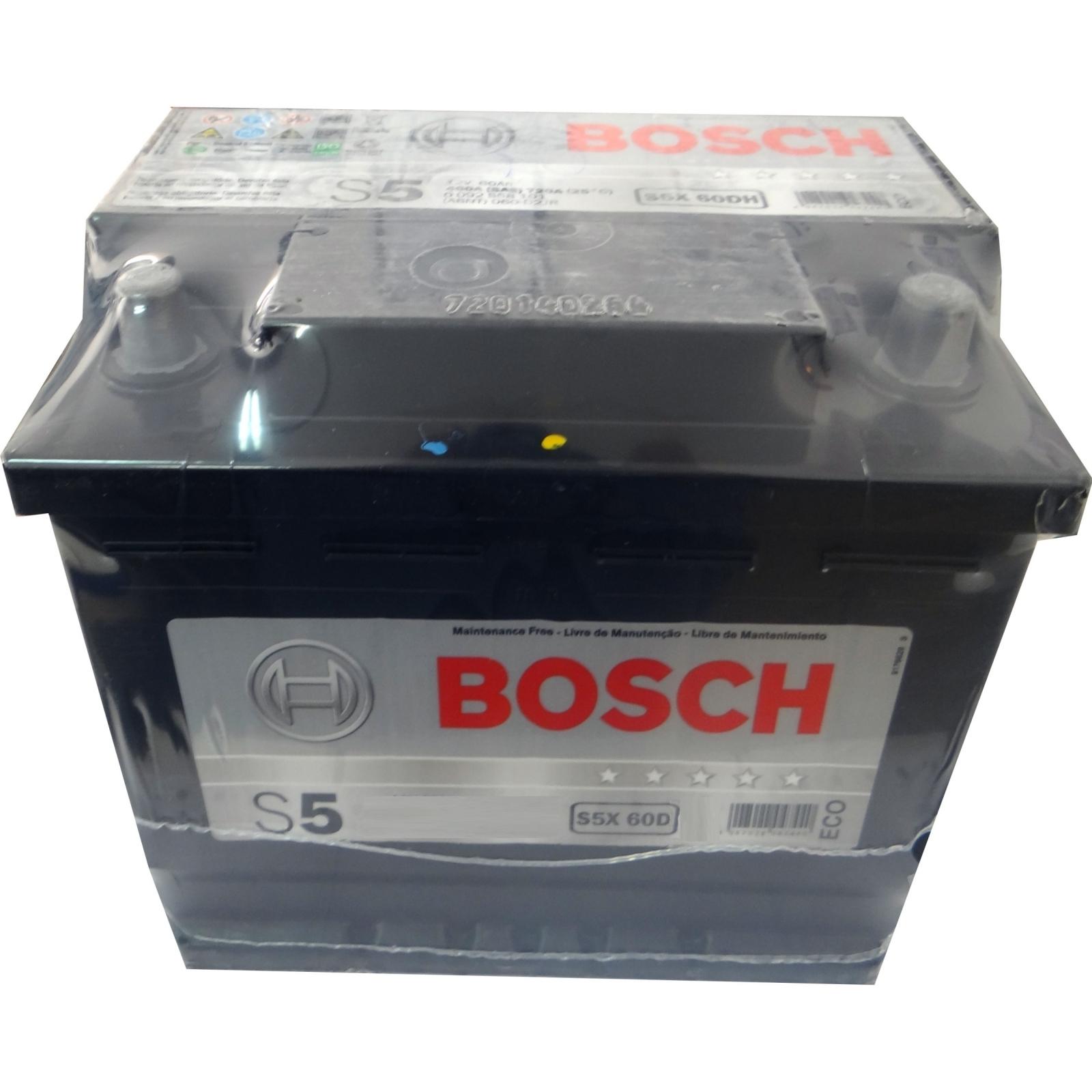 Bateria Bosch 60Ah (S5X 60D) - Cantele Centro Automotivo