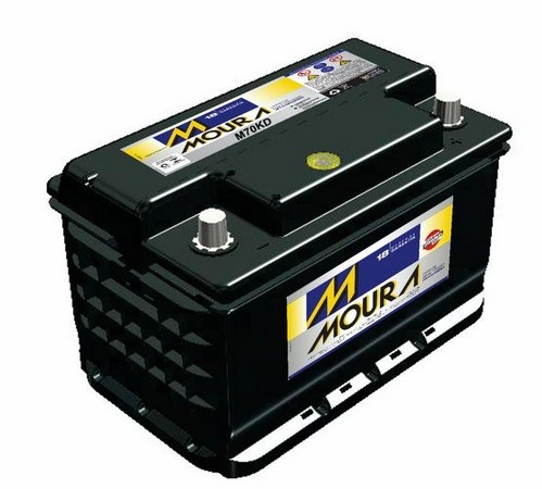 Bateria Moura 70Ah (M70KD) - Cantele Centro Automotivo