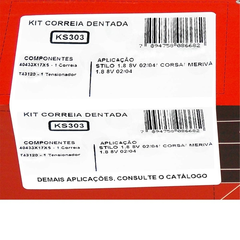 KS303 Agile/Celta/Cobalt/Corsa/Montana/Prisma (Instalado) - Cantele Centro Automotivo
