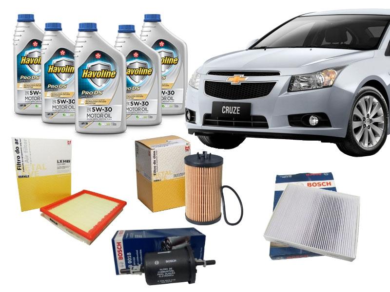 Kit Revisão Cruze 1.8 Flex 2012 a 2016 - Cantele Centro Automotivo