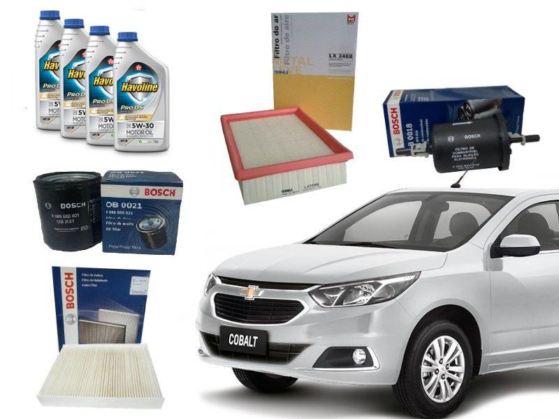 Kit Revisão Cobalt 40.000 Km 1.4/1.8 Flex 2012 a 2016 - Cantele Centro Automotivo