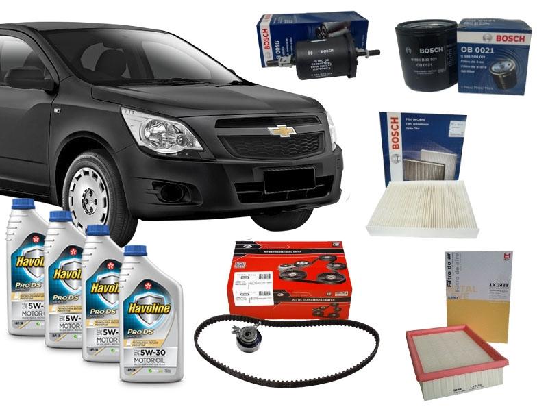 Kit Revisão Cobalt 50.000 Km 1.4/1.8 Flex 2012 a 2016 - Cantele Centro Automotivo