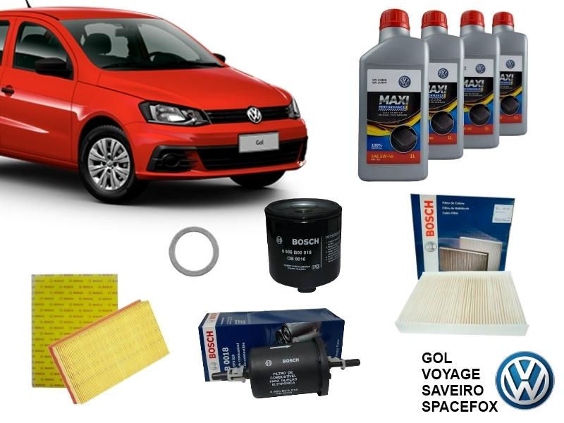 Kit Revisão Gol/Voyage/Saveiro/SpaceFox 1.0/1.6 G4 em diante - Cantele Centro Automotivo