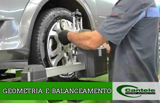 Geometria e Balanceamento para Automóvel  - Cantele Centro Automotivo