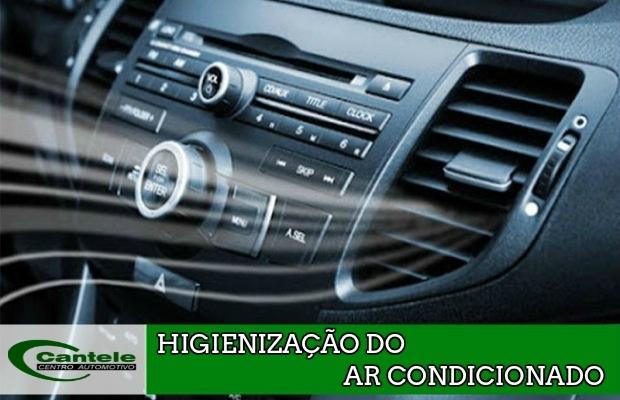 Higienização do Ar Condicionado - Cantele Centro Automotivo
