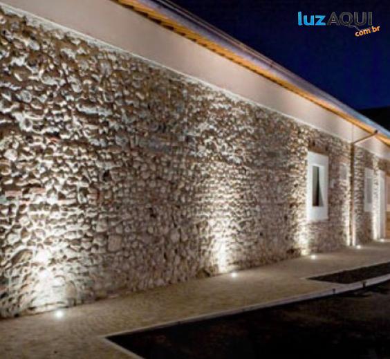Embutido de Piso LED 8W 10o 650 lm 2700K Bivolt - 3639-FE-S  - Luz Aqui