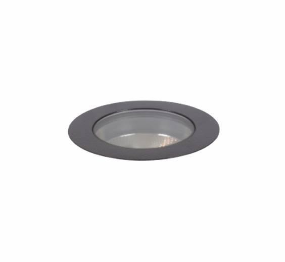 Embutido de Piso LED 8W 20o 650 lm 2700K Bivolt - antigo 3619-MD-S atual  3639-MD - Luz Aqui