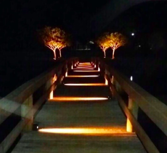 Poste Balizador LED 2,5W 170lm 3000K 4022-W - Luz Aqui
