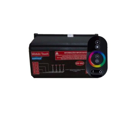 Controle c/ Comando de Luminárias Led Touch - 018904 - Luz Aqui