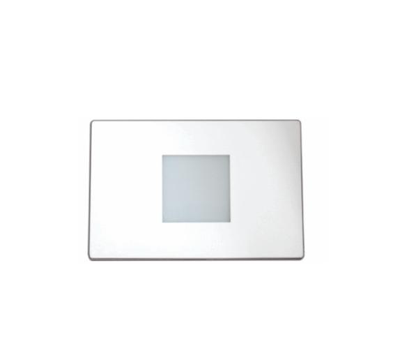 Balizador Parede Led 0,65W 46lm 2700K Bivolt para caixa 4x2 - Luz Aqui
