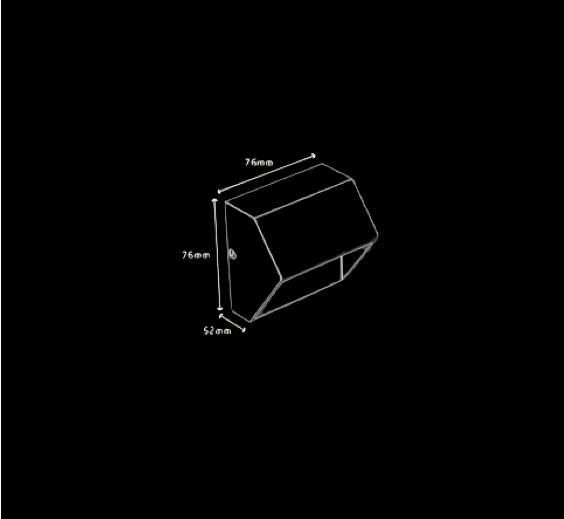 Balizador Sobrepor 1xG9 40W - NANO 139  - Luz Aqui
