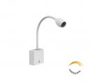 Arandela Leitura LED 1,2W Dim 3000K 90lm Bivolt Olive 4143-W