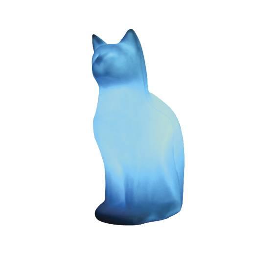 Luminária Temática Formato Gato Sentado - Luz Aqui
