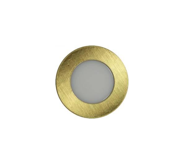 Balizador Piso LED 0,85W 46lm 3000K Bivolt - IL 3932 / 3907 - Luz Aqui