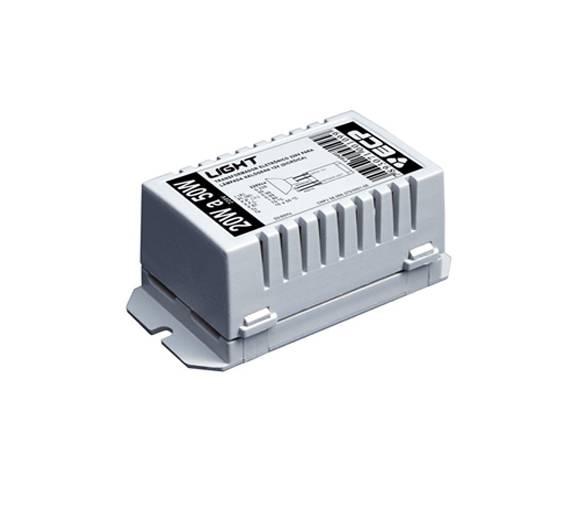 Transformador Eletrônico 50W 12V 127V - ECP - Luz Aqui