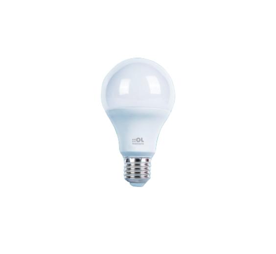 Lâmpada Bulbo LED 9W 3000k Bivolt 900lm - A609B3AO - Luz Aqui