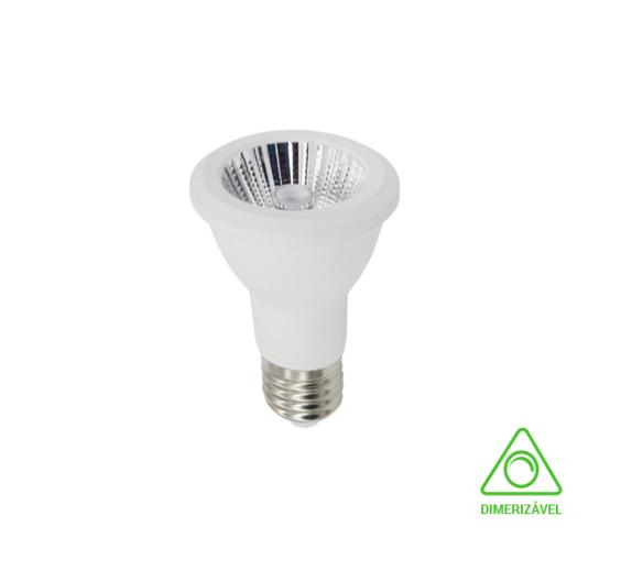 Lampada LED PAR20 6W Dimerizavel 2700K 127V - LP31033 - Luz Aqui