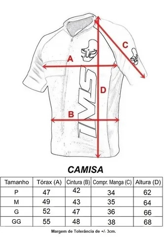 Camisa Ciclismo Masculina - IMS  - PauliBike