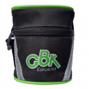 Bolsa de Selim Kombate Colorida Preto/Verde - GBike