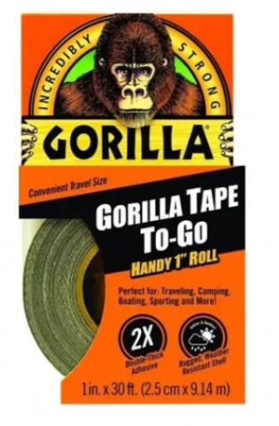 Fita de Aro Tubeless - 2.5cmx9.14m - Gorilla Tape  - PauliBike