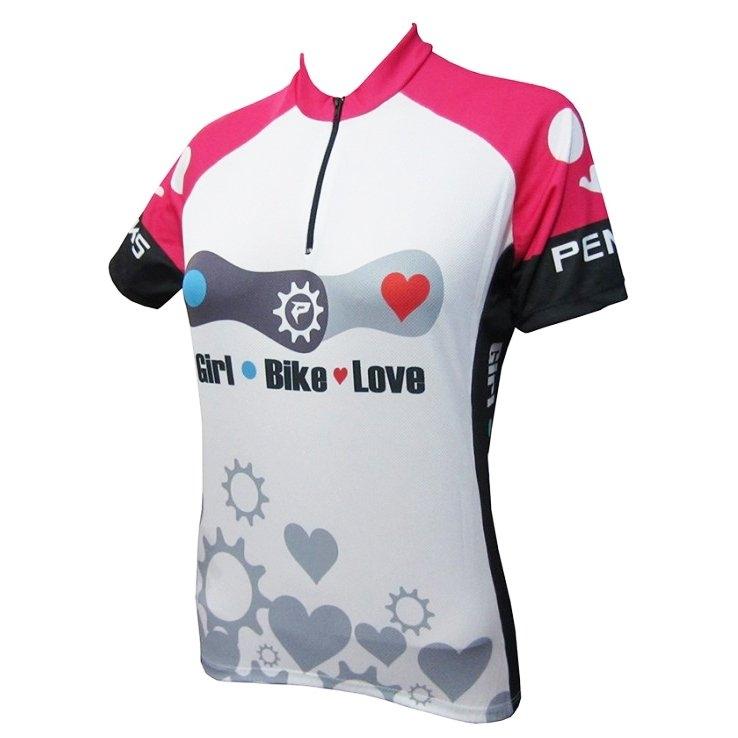 Camisa Ciclismo Feminina Love - PENKS  - PauliBike