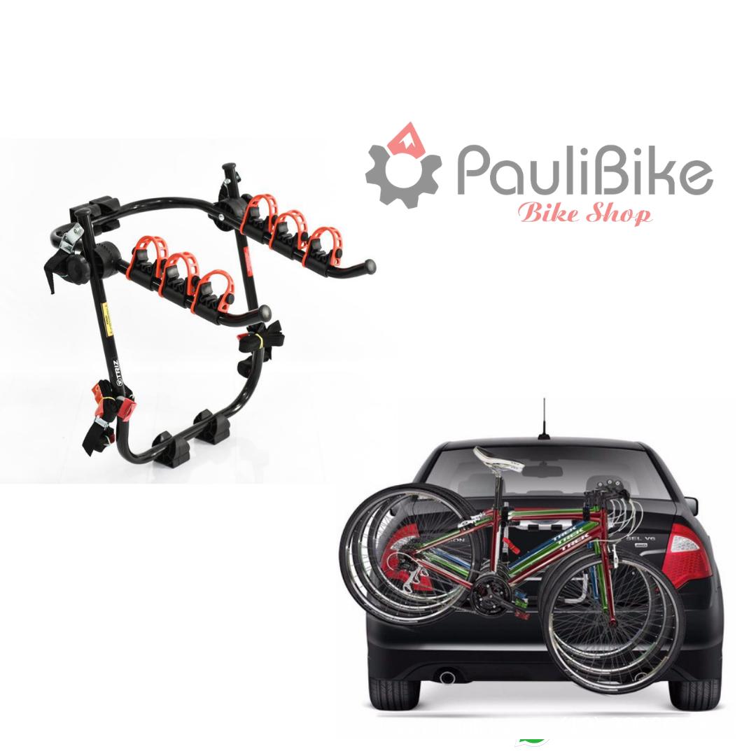 TransBike Porta Malas para 3 Bicicletas - TRIZ  - PauliBike