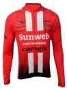 Camisa Ciclismo Masculina Cabani Sunweb - Manga Longa