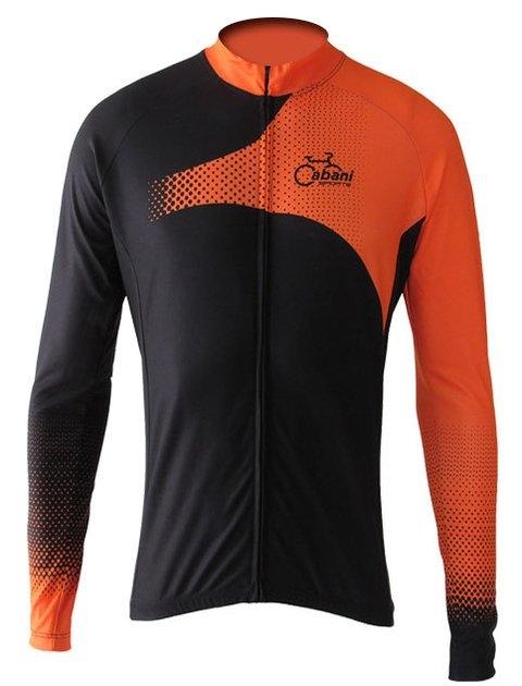 Camisa Ciclismo Cabani Sprint Preto/Laranja - PauliBike