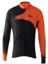 Camisa Ciclismo Cabani Sprint Preto/Laranja