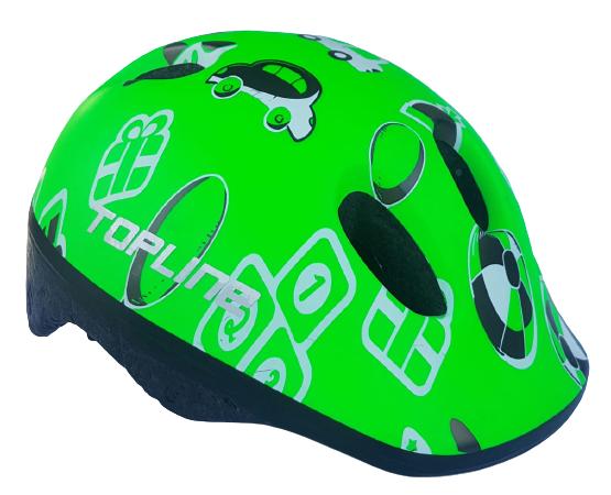 Capacete Baby Verde - TOPLINE  - PauliBike