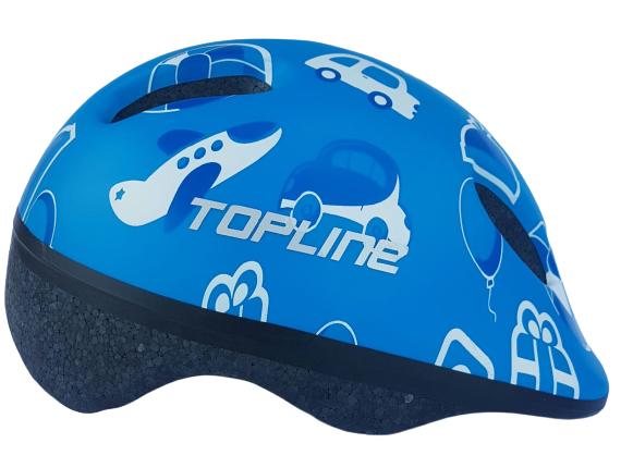 Capacete Baby Azul - TOPLINE  - PauliBike