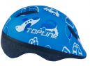 Capacete Baby Azul - TOPLINE