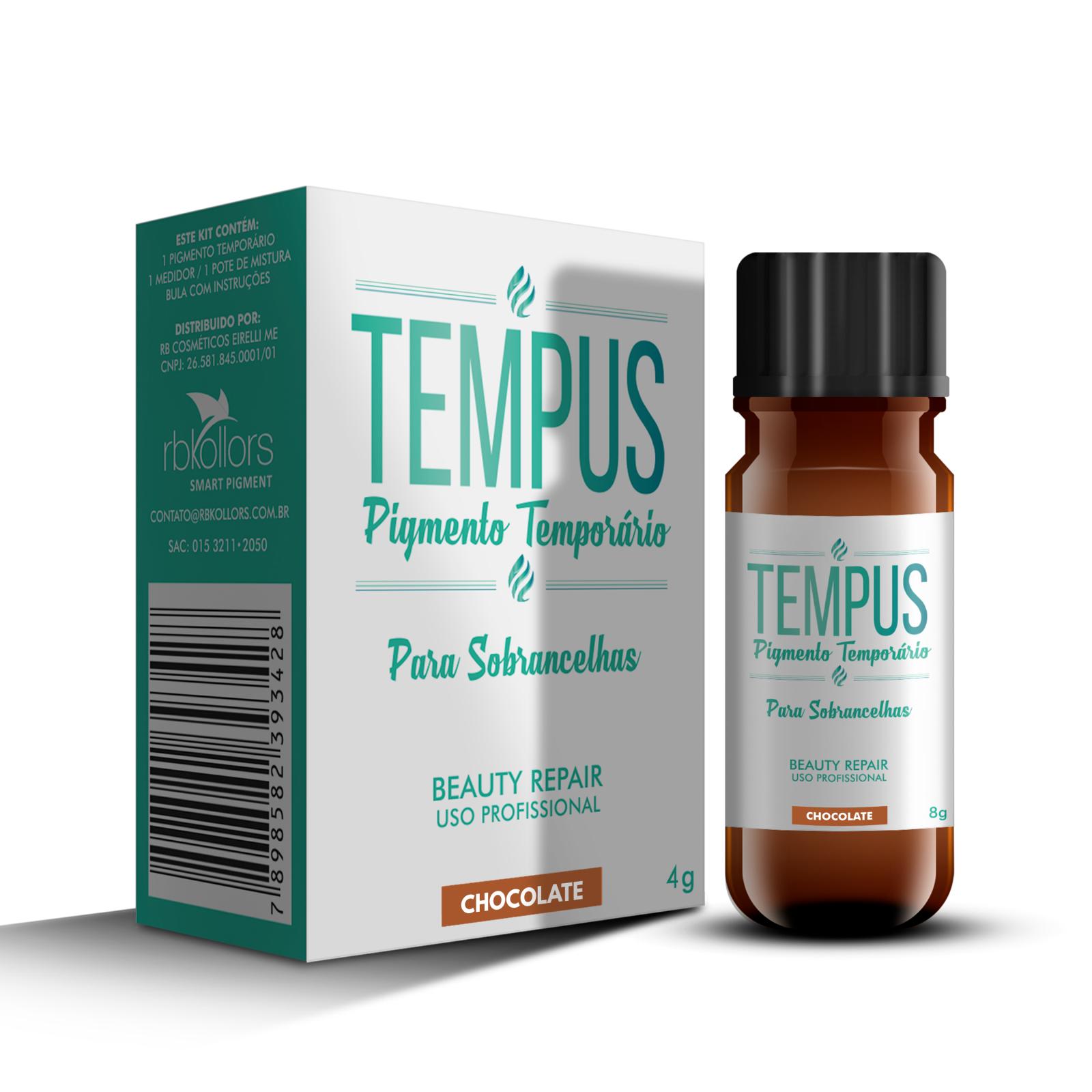 TEMPUS PIGMENTO TEMPORARIO CHOCOLATE 4G - RB Kollors