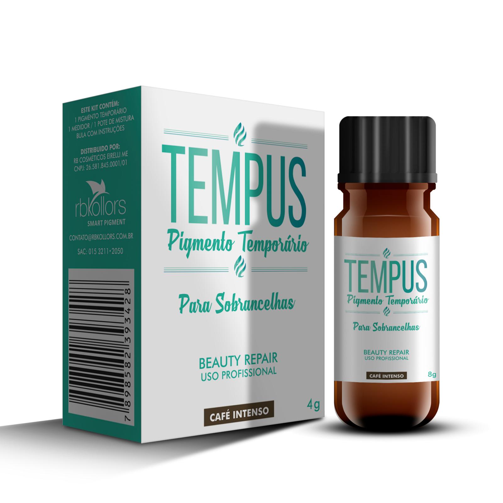 TEMPUS PIGMENTO TEMPORARIO - CAFE INTENSO 4G - RB Kollors
