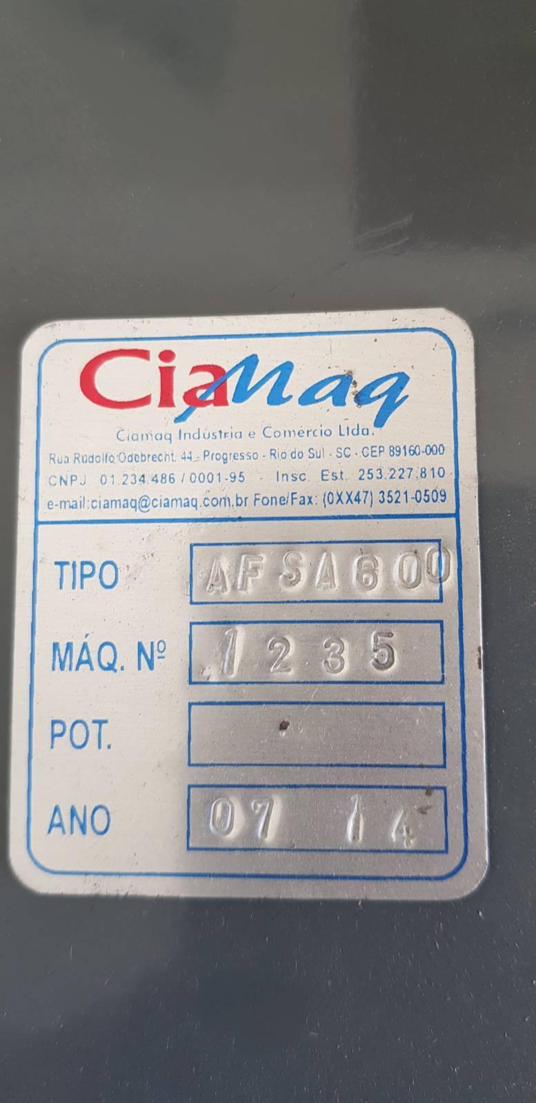 Afiadeira Semi automática AFSA 610 Ciamaq - Kimaq