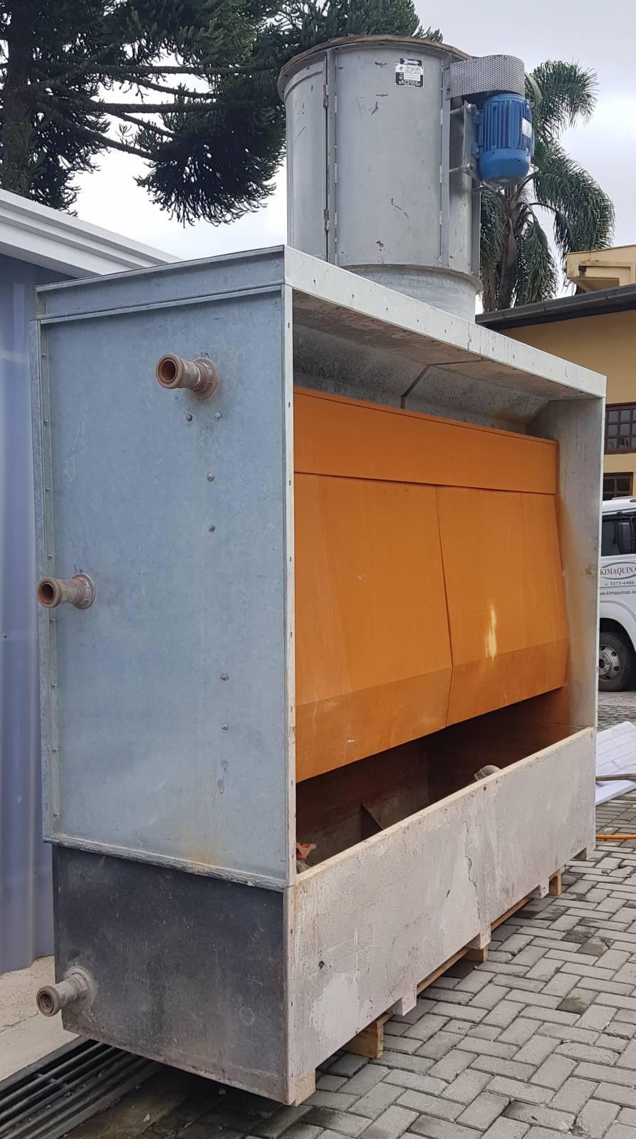 Cabine de pintura cortina d'água - Kimaq