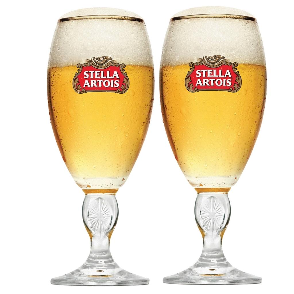Jogo de Copos Stella Artois 2 peças - Ambev - Bakar-Bakar