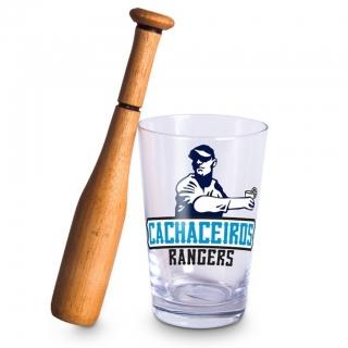 Kit Caipirinha Beisebol Cachaceiros Rangers - Vaca Design
