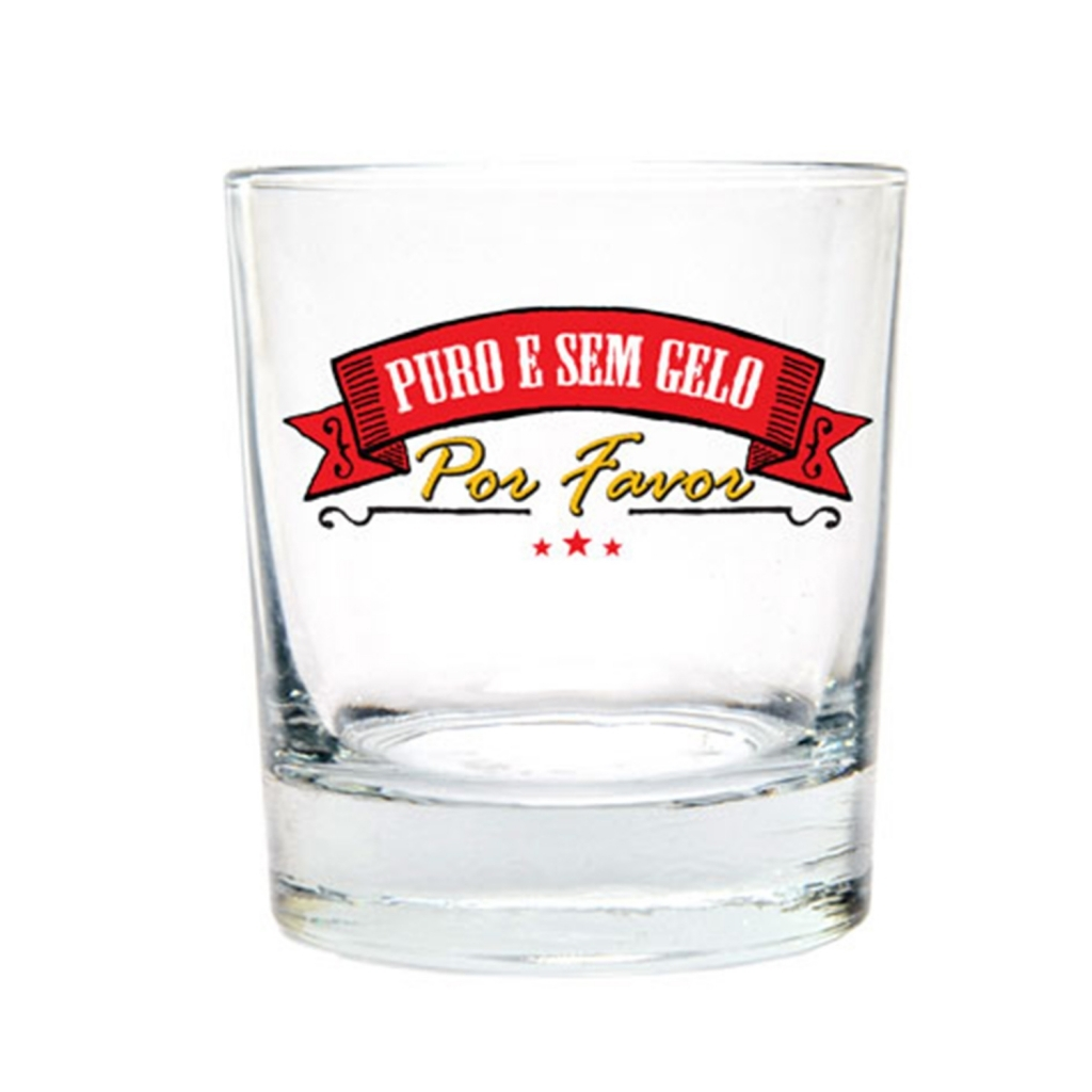 Copo de Whisky Puro e sem Gelo - Kathavento - Bakar-Bakar